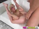 Gorgeous hottie Piper Perri sucking a big dick