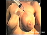 Saline Injection Tit Torture - Tit torture Videos
