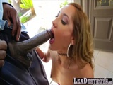 Voluptuous and slutty Chloe Amour gets fucked by Lexington Steele