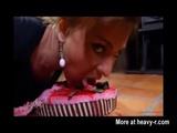 Puking On Cake - Puke Videos