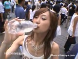 Public Cum Drinking From Bottle - Cumdrinking Videos