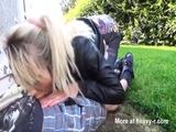 Cum Walk In Supermarket - Blonde Videos