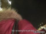 Eurobabe Jess Silvermoon sex in public