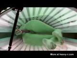 Squirting In Solarium - Hidden camera Videos