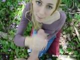 Teen Giving Outside Blowjob - Amateur Videos