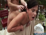 Round butt beauty Keisha Grey moans it out loud while fucked