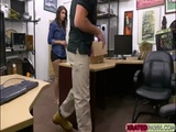 Skyla Novea makes some cash blowing pawnmans dick