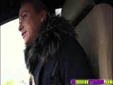 Blonde and voluptuous Cristal fucks dude
