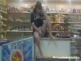 Toying Cunt In Supermarket - Amateur Videos