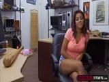 Cute Latina Mia Martinez trades tight wet pussy for cash
