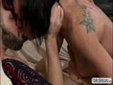 Pretty ts River in an anal fucking scene with a dude