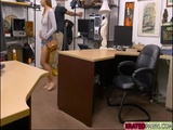 Bigtits babe Mariah deepthroats and fucks pawn manager for cash