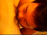 Sucking the Korean babes pussy then fucking her in POV