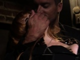 Busty Ginger Sub Anally Fucked And Pussytoyed