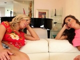 Olivia And Abigail End The Summer With Some Lesbian Sex
