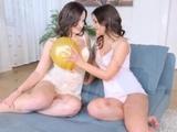 Anina Silk And Cherry Bright Lesbian Sex On Sapphic Erotica