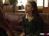 UK Teen Skips School & Gets Some Big Black Cock - BBC TEEN SLUT -