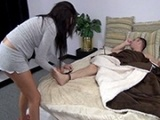 Dirty Step-Sister Fucks Her Tied Up Step-Brother