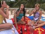 Amia Moretti, Blue Angel, Hailey Young (Paradise '09 19.03.10