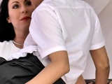 Pussylicking Mature Seduces Teen Schoolgirl