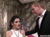 Audrey And Liz Manhandled Chads Big Cock