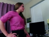 Step Aunt Mallory's Secret Visit ***FULL VIDEO*** POV