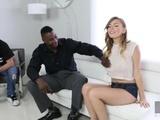 Hussie Auditions: Hot Eighteen YO Alex Blake's First Interracial Experience