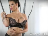 CrushOnPeta E08 - Peta Jensen In A Lingerie Strip And Toy Session