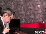 Playgirl Gets Her Ravishing Snatch Ravished By Teacher