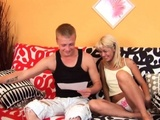 Babe Gets Her Wet Throat Stuffed With Studs Weenie