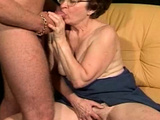 Granny Fucked By A Handsome Stud