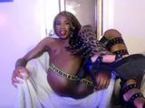Hot Sensual Ebony Beauty Loves To Jerk A Sick