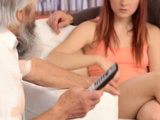 Daddy4k. Comely Teen Savors Fingering From Both Boyfriend...