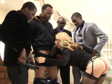 Classy Milf Anally Drilled By Black Cocks