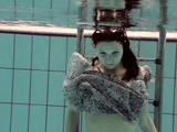 Loris Licicia Super Hot Underwater Swimming Naked