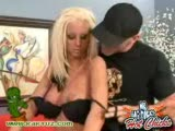Blonde bombshell Krystal Steal fucked by Mr. Big Dick